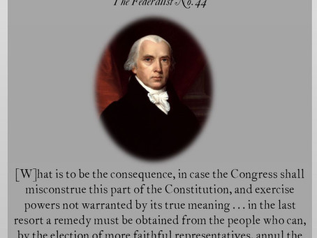 The Federalist Papers: No. 44