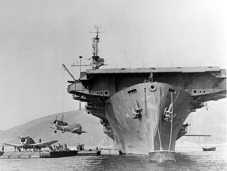 This Day in History: USS Bismarck Sea sunk by kamikazes at Iwo Jima