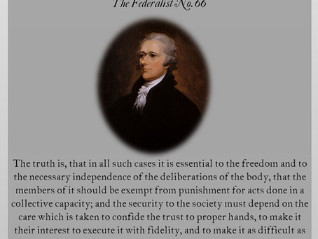 The Federalist Papers: No. 66