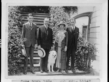 This Day in History: Calvin Coolidge's 1924 election campaign
