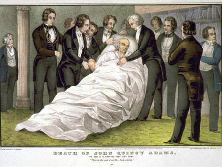 This Day in History: John Quincy Adams passes away