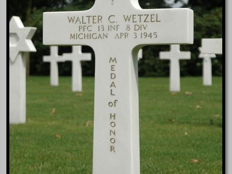 "This Day in History: Pfc. Walter C. Wetzel's ""unhesitating sacrifice"""