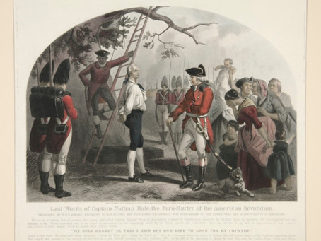 This Day in History: Nathan Hale, spy for George Washington