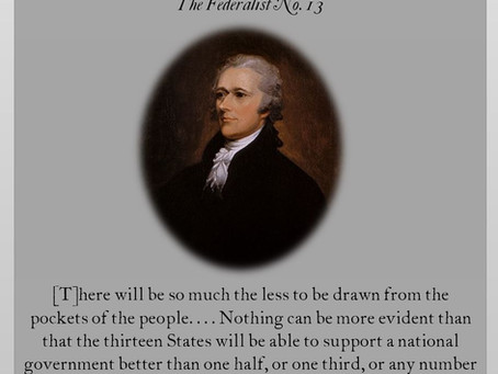 The Federalist Papers: No. 13