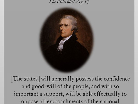 The Federalist Papers: No. 17