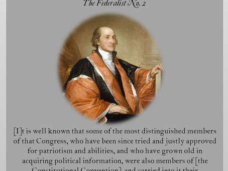 The Federalist Papers: No. 2