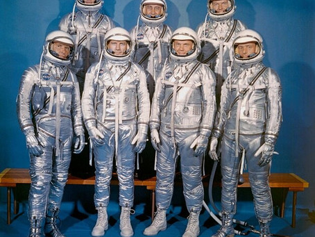 This Day in History: Mercury Seven, the first astronauts