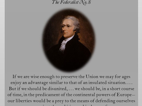 The Federalist Papers: No. 8