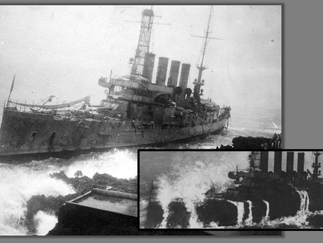 This Day in History: USS Memphis is wrecked by a massive tidal wave