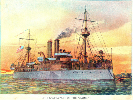 This Day in History: The USS Maine explodes in Havana Harbor