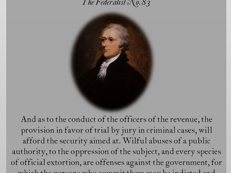 The Federalist Papers: No. 83