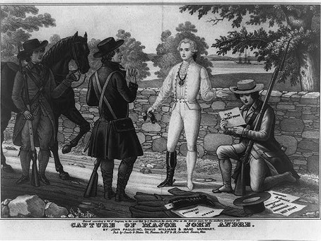 This Day in History: Benedict Arnold's treachery exposed