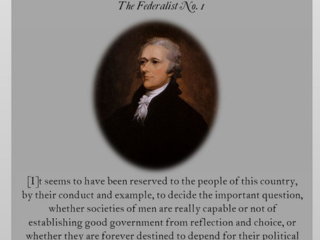 The Federalist Papers: No. 1