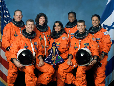 This Day in History: The Space Shuttle Columbia explodes