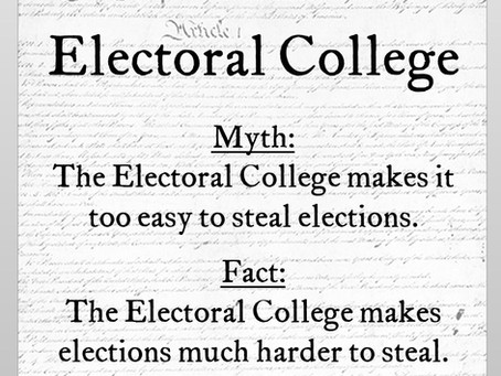 """Electoral College Myth #6: The System Disenfranchises Voters Who Live in """"Safe"""" States"""