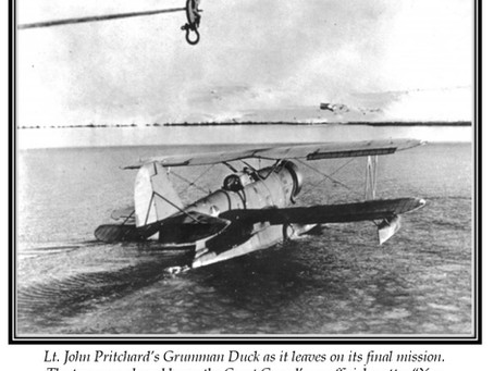 This Day in History: Lt. John Pritchard's rescue mission at the Greenland Ice Cap