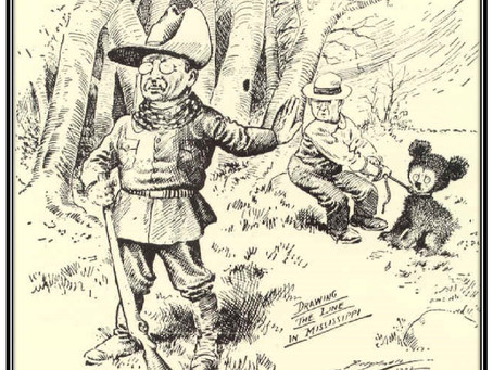 """This Day in History: Teddy Roosevelt, a political cartoon, and """"Teddy's Bear"""" is created"""
