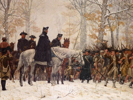 This Day in History: George Washington's army marches into Valley Forge