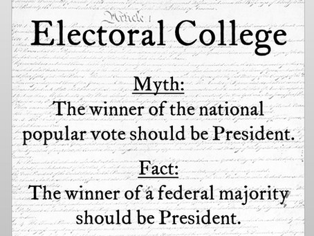Electoral College Myth #7: Candidates who lose the popular vote shouldn't win the White House