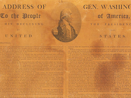This Day in History: George Washington bids the nation farewell (again)