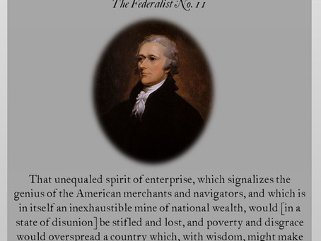 The Federalist Papers: No. 11