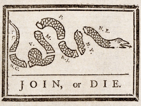 This Day in History: Why were snakes used on Revolutionary War flags?