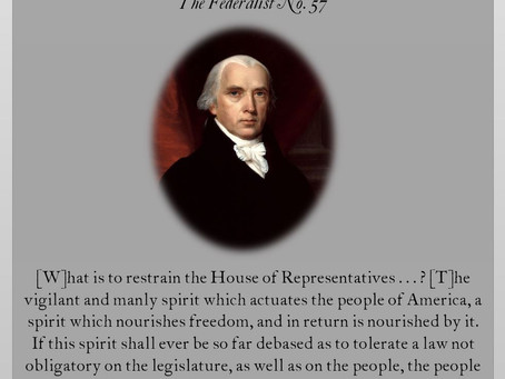 The Federalist Papers: No. 57