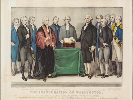This Day in History: President George Washington is inaugurated