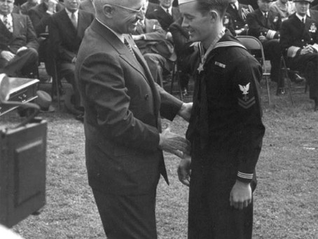 This Day in History: George Wahlen at Iwo Jima