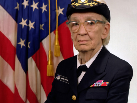 """This Day in History: Rear Admiral """"Amazing Grace"""" Hopper"""