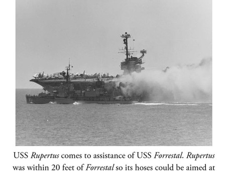 This Day in History: The terrible fire aboard USS Forrestal