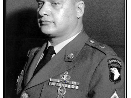"""This Day in History: Medal recipient Webster Anderson, """"the mainstay of the defense"""""""