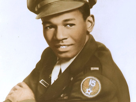 This Day in History: Calvin Spann, Tuskegee Airman