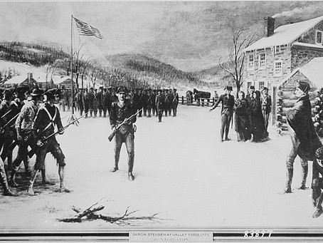 This Day in History: Baron von Steuben arrives at Valley Forge