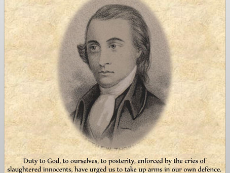 This Day in History: Matthew Thornton, Signer of the Declaration