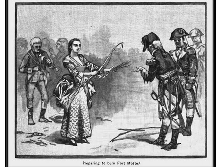This Day in History: A Widow Sacrifices Her Home for the Patriot Cause