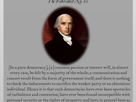 The Federalist Papers: No. 10