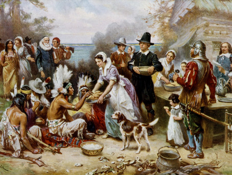 This Day in History: The Pilgrims enjoy a three-day Thanksgiving feast