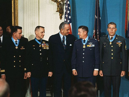This Day in History: Four Vietnam Heroes receive the Medal of Honor