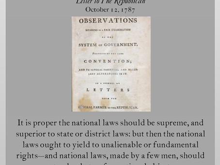 Anti-Federalist Papers: Federal Farmer IV