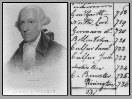 This Day in History: James Rivington, Patriot Spy or Loyalist?