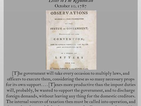 The Anti-Federalist Papers: Federal Farmer III
