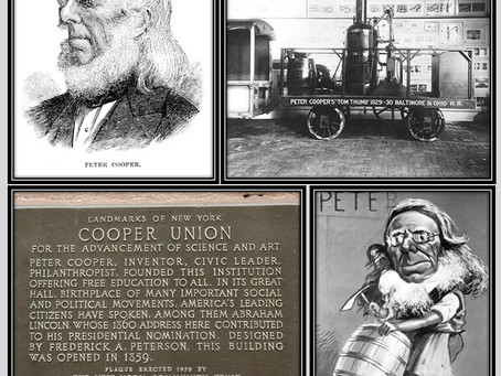 This Day in History: Peter Cooper's American success story