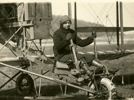 """This Day in History: Ruth Law, daring aviatrix and """"Queen of the Aces"""""""