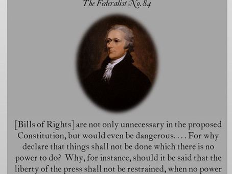 This Day in History: A Bill of Rights is proposed
