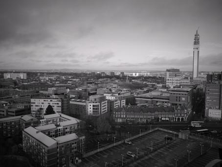 Quick stop in Birmingham