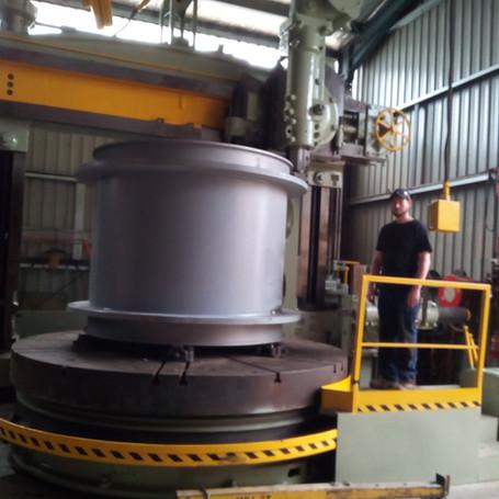 Large capacity machining