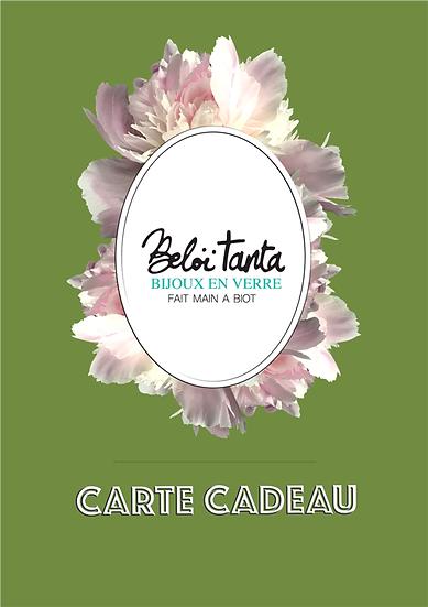 copy of Carte Cadeau