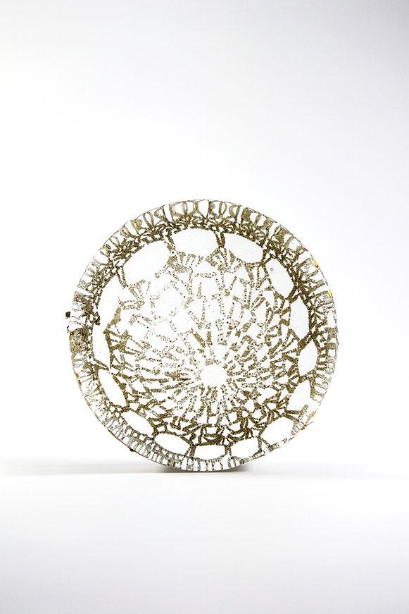 glass and metal artefact