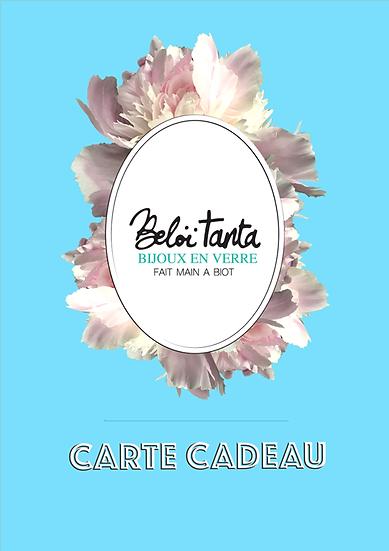 copy of copy of Carte Cadeau